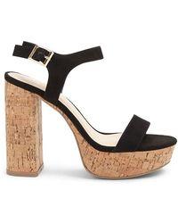 244fd6c0f5 Forever 21 - Women's Faux Suede Platform Heels - Lyst