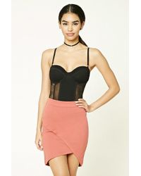 Forever 21 - Tulip Mini Skirt - Lyst