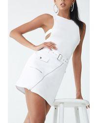Forever 21 - Moto Mini Skirt - Lyst