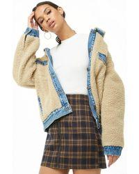 Forever 21 - Check A-line Mini Skirt - Lyst