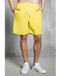 Forever 21 - Drawstring Swim Trunks - Lyst