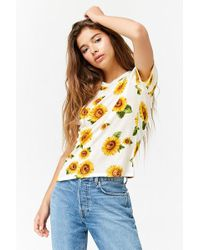 Forever 21 - Sunflower Graphic Tee - Lyst