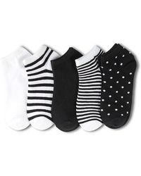 Forever 21 - Patterned Ankle Socks Set - 5 Pack - Lyst