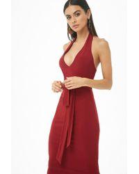Forever 21 - Women's Halter Bodycon Dress - Lyst