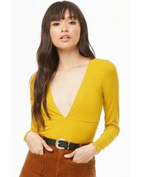 Forever 21 - Body en canalé - Lyst