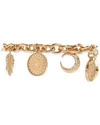 Forever 21 - Etched Charm Bracelet - Lyst