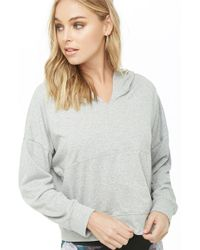 Forever 21 - Active French Terry Hoodie - Lyst