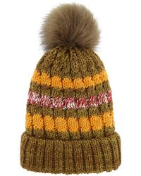 Forever 21 - Faux Fur-lined Foldover Beanie - Lyst
