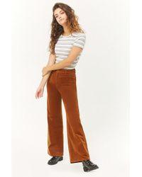Forever 21 - Corduroy Wide-leg Pants - Lyst
