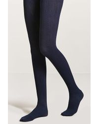 Forever 21 - Cable Knit Tights - Lyst
