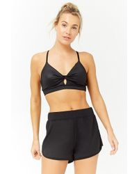 Forever 21 - Active Dolphin Hem Shorts - Lyst