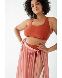 40bc8ea0b Forever 21 - Women's Plus Size Mesh Swim Cover-up Skirt - Lyst