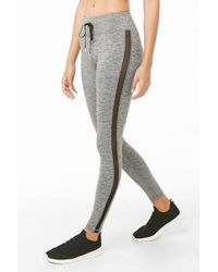 Forever 21 - Active Heathered Leggings - Lyst