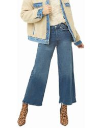 Forever 21 - High-rise Flare Jeans , Dark Denim - Lyst