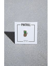 Forever 21 - Pintrill Pineapple Pin - Lyst