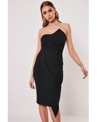 Missguided - Bodycon Dress At - Lyst