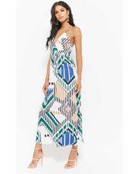 Forever 21 - Geometric Maxi Dress - Lyst