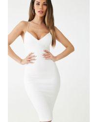 Forever 21 - Y-back Bodycon Dress - Lyst