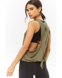 Forever 21 - Active Knotted Muscle Tee - Lyst