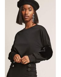 Forever 21 | French Terry Pullover | Lyst