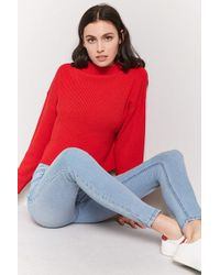 Forever 21 - Mid-rise Skinny Jeans - Lyst