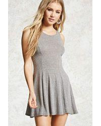 FOREVER21 - Stretch-knit Skater Dress - Lyst