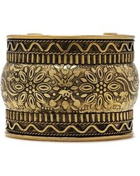 Forever 21 - Etched Floral Cuff - Lyst