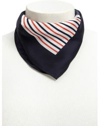 Forever 21 - Satin Striped Square Scarf - Lyst