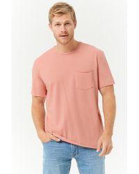 Forever 21 - T-shirt con taschino - Lyst