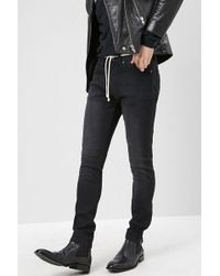 Forever 21 - Ankle-zip Skinny Jeans - Lyst