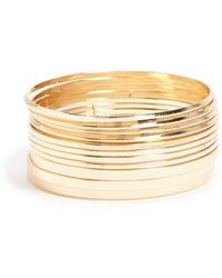 Forever 21 - Flat Bangle Bracelet Set - Lyst