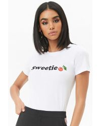 Forever 21 - Sweetie Graphic Tee - Lyst