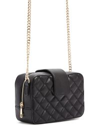 Forever 21 - Quilted Faux Leather Crossbody - Lyst