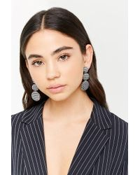 Forever 21 - Houndstooth Drop Earrings - Lyst