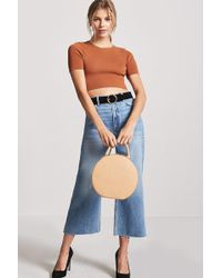 Forever 21 - Knit Crop Top - Lyst