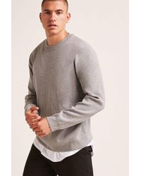 Forever 21 - Crew Neck Sweater - Lyst