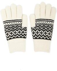 Forever 21 - Geo Print Gloves - Lyst