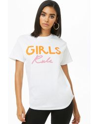 Forever 21 - The Style Club Girls Rule Graphic Tee - Lyst