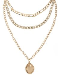 Forever 21 - Women's Chain-link Necklace Set - Lyst