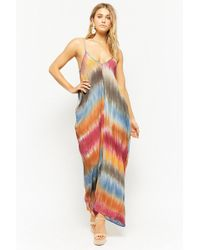 Forever 21 - Tie-dye Cami Maxi Dress - Lyst