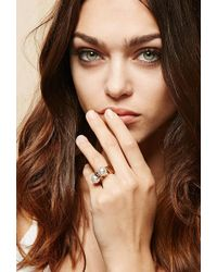 Forever 21 - Amber Sceats Thunderball Ring - Lyst