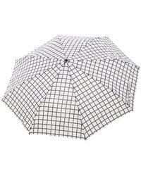 Forever 21 - Grid Print Umbrella - Lyst