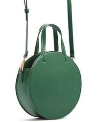 Forever 21 - Faux Leather Circle Bag - Lyst