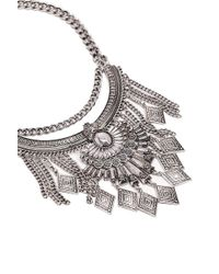 Forever 21 - Ornate Statement Necklace - Lyst