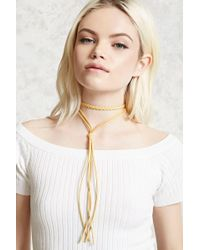 Forever 21 - Faux Suede Layered Choker - Lyst