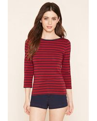 Forever 21 | Classic Stripe Top | Lyst