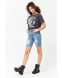 Forever 21 - Cutoff Denim Bermuda Shorts - Lyst
