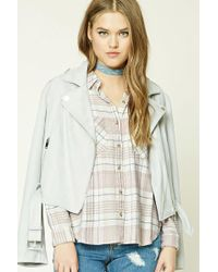 Forever 21 - Check Flannel Shirt - Lyst
