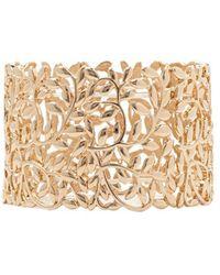 Forever 21 - Cutout Leaf Bracelet - Lyst