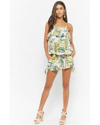 Forever 21 - I The Wild Tropical Self-tie Shorts - Lyst